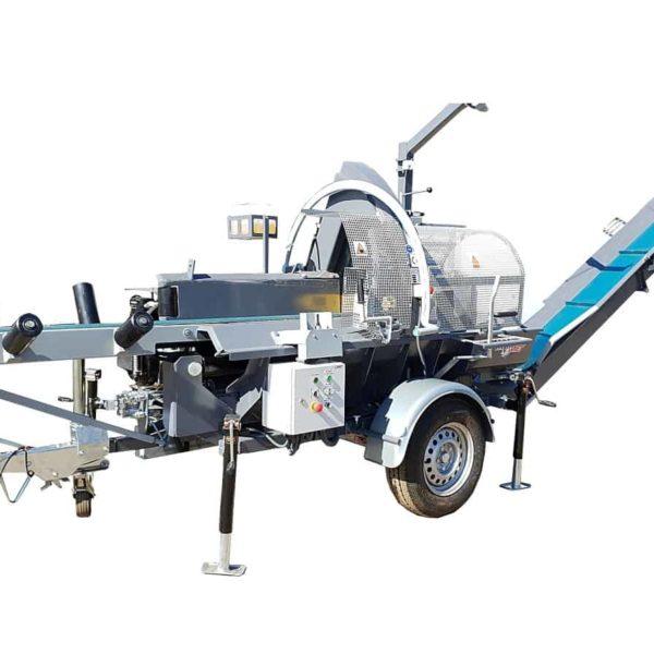 Utilaj pentru despicat lemn Trak-Met PLD-450 MOBIL
